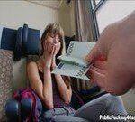 Pagou ela pra fazer sexo dentro do trem